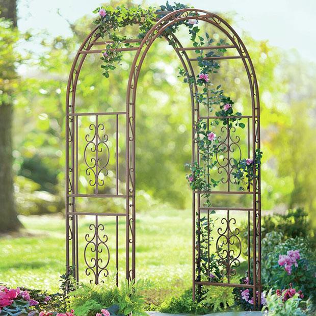 Chessman Iron Garden Arches