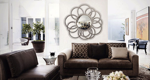 Marvelous Wall Mirror Designs for Living Room