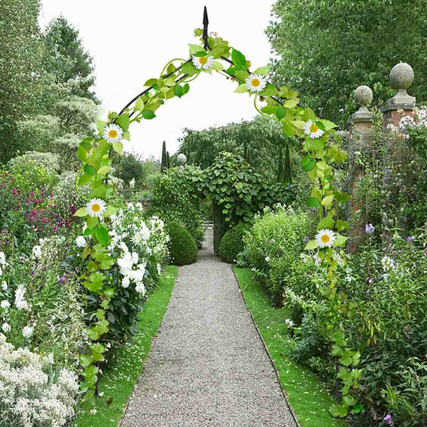 Mercier Rose Gothic Garden Arch