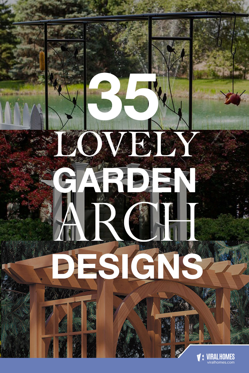 Garden Arch Designs That Never Go Out of Style