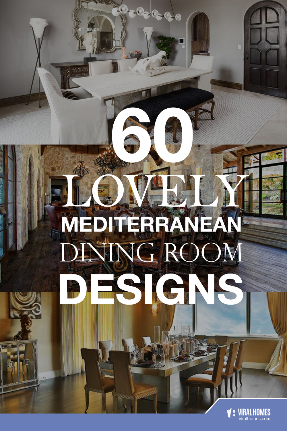Amazing Mediterranean Dining Room Designs That Never Go Out Of Style