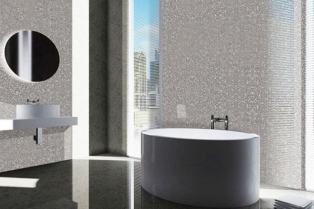 Titanium Silver Bathroom