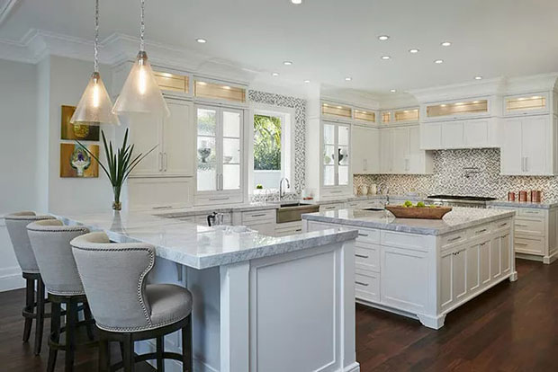 Royal Palm Yacht and Country Club White Kitchen Cabinet Ideas