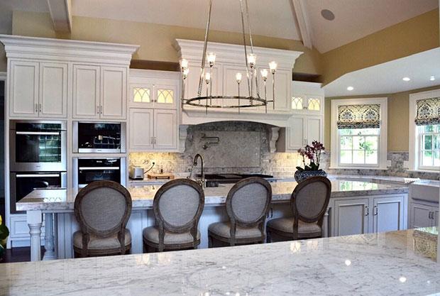 The Georgian White Kitchen Cabinet Ideas