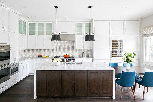 Newport Coast Remodel White Kitchen Cabinet Ideas