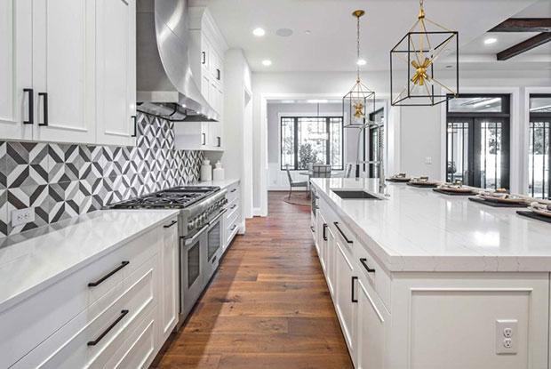 NE 21st Medina White Kitchen Cabinets