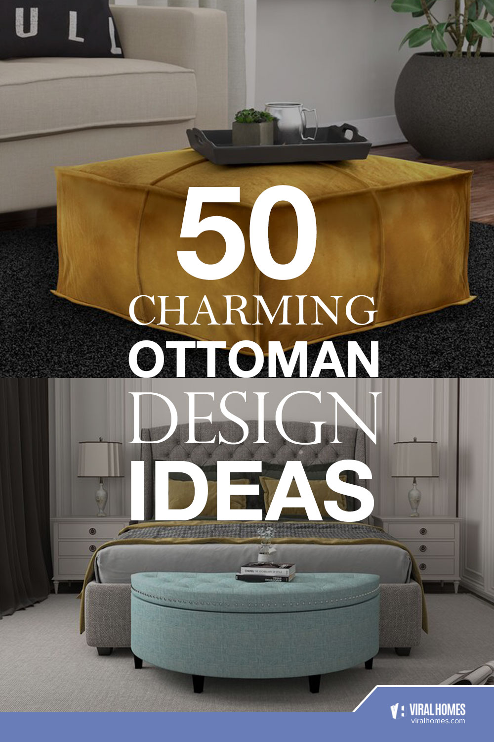 50 Ottoman Designs That Are Eye-Catching