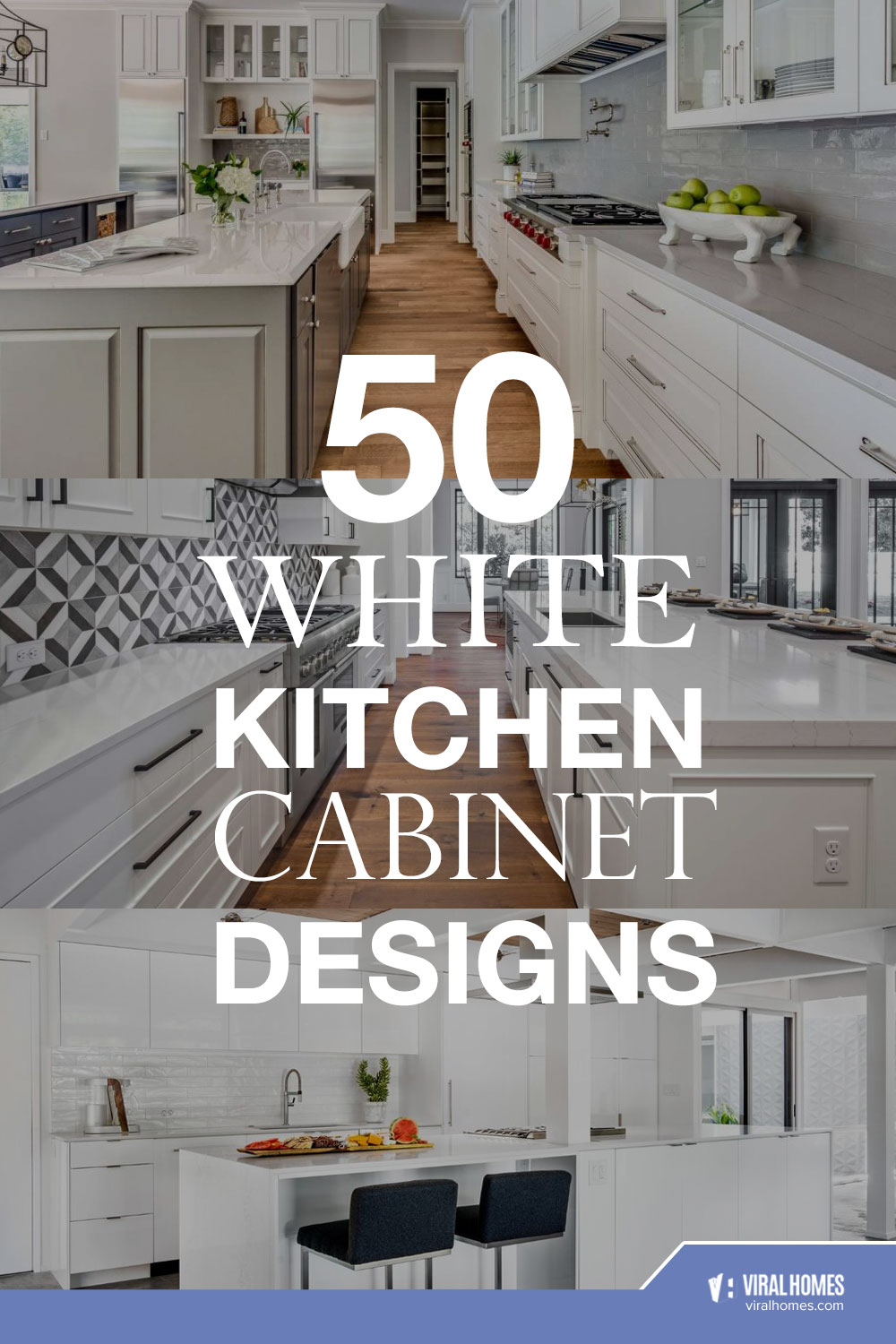 50 White Kitchen Cabinet Ideas For A Clean Look