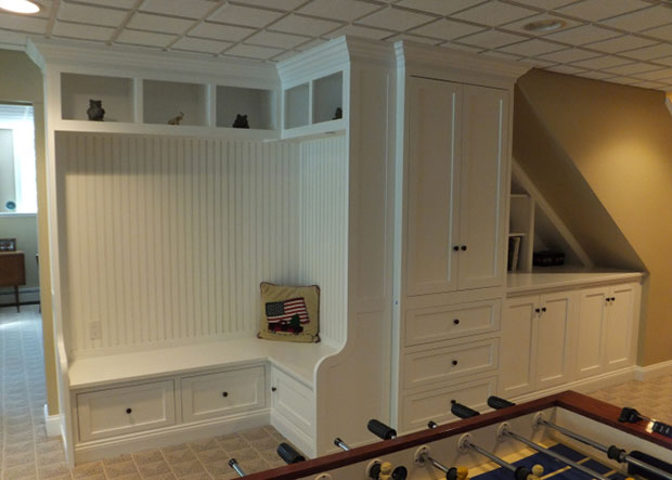Game Room Built-in