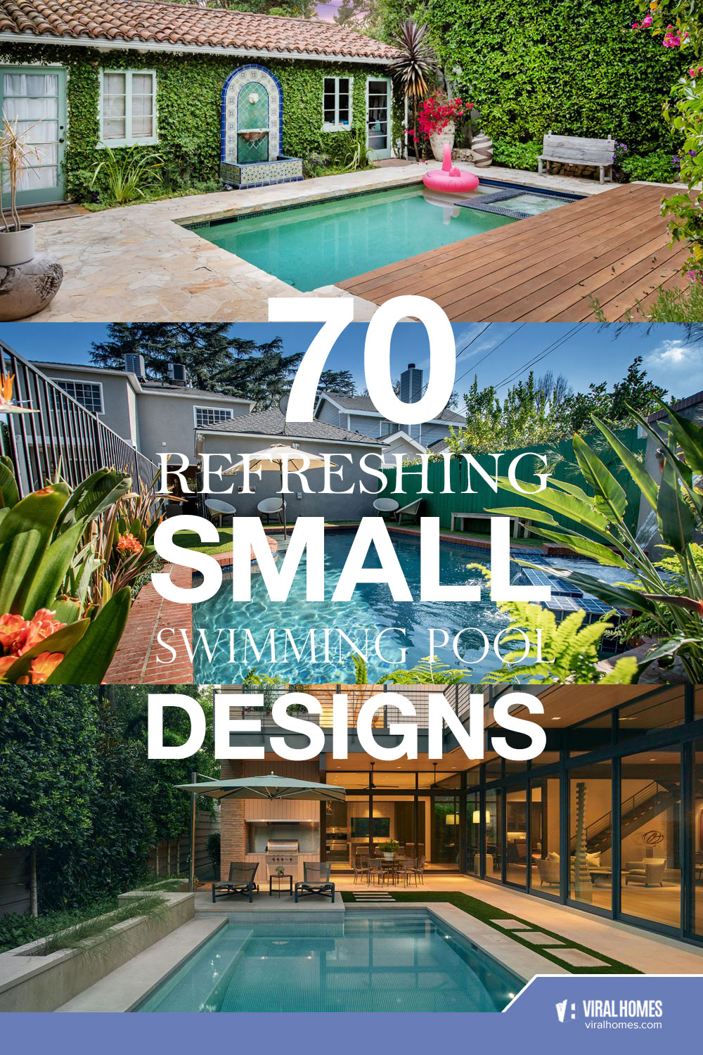 Small Swimming Pool Ideas for Tiny Yards