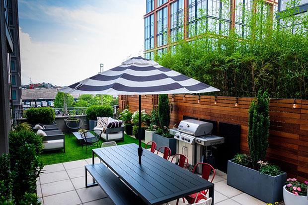 Brooklyn Heights Rooftop Garden