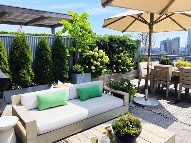 Brooklyn Rooftop Garden Make-over