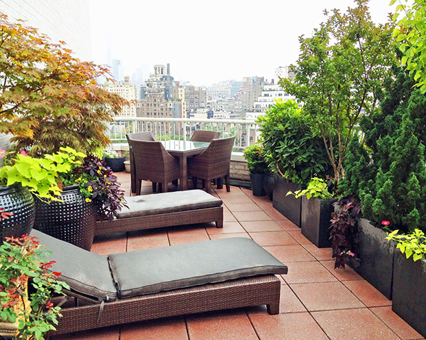 West Village NYC Rooftop Terrace