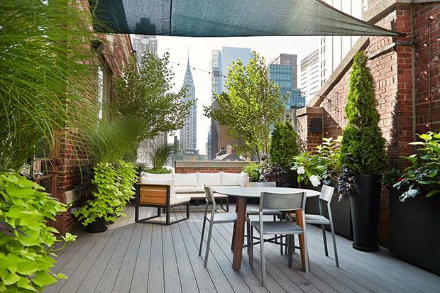 Midtown Manhattan NYC Rooftop Garden