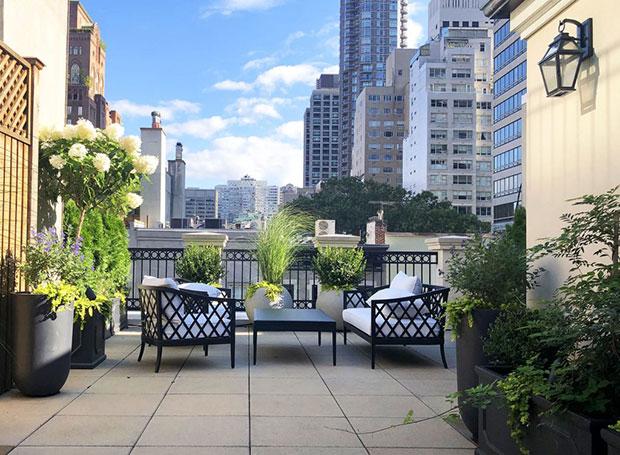 Upper East Side Classic Roof Garden