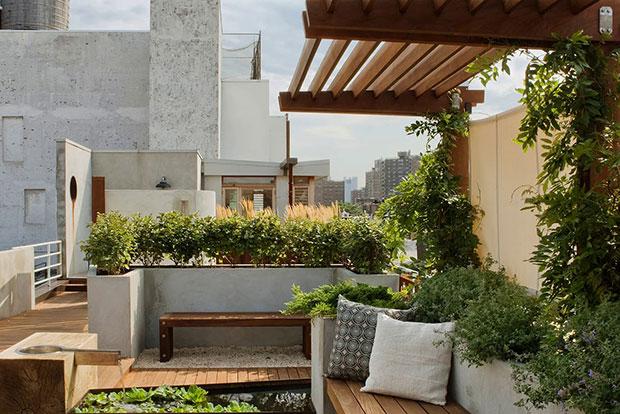 East Village Rooftop Garden