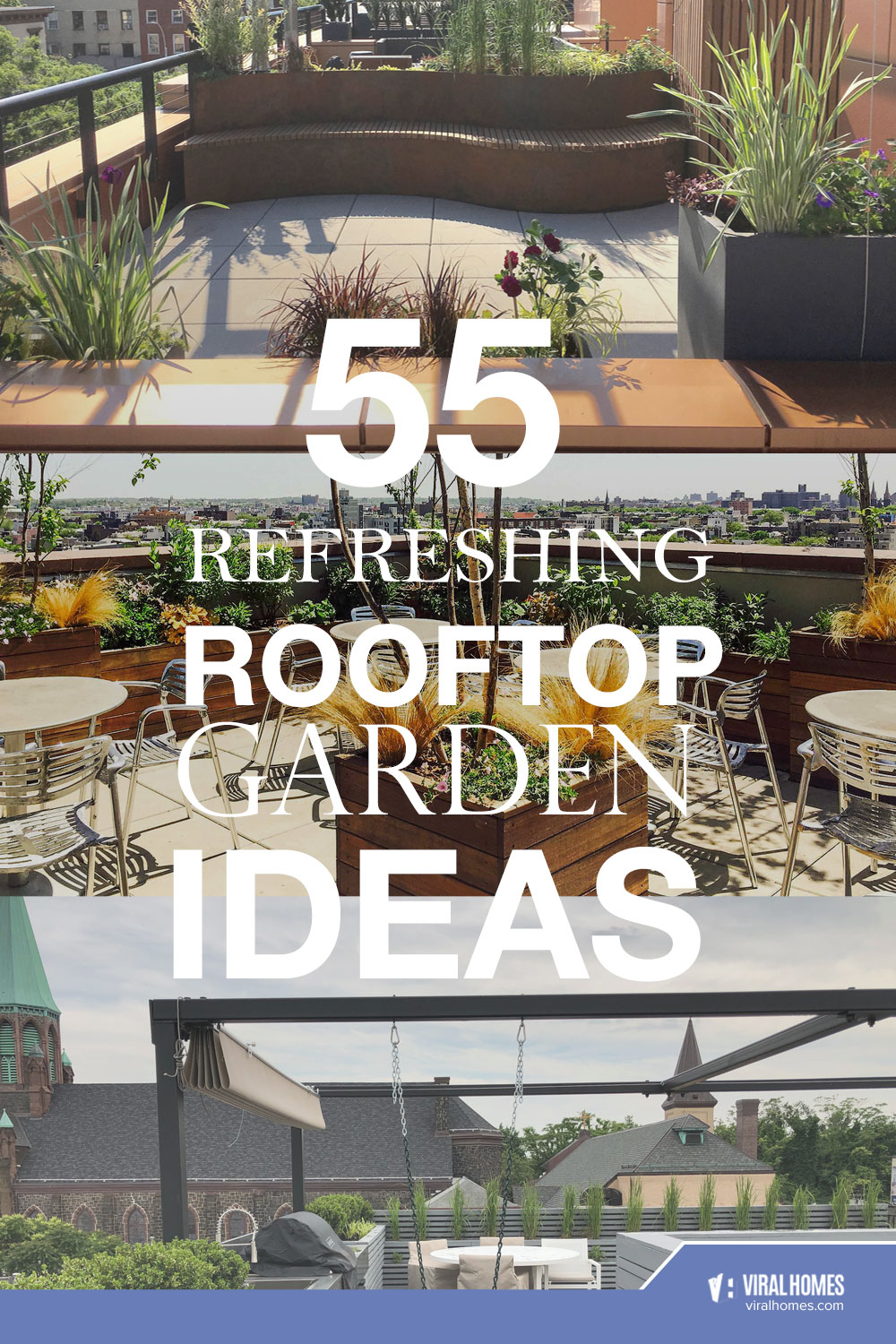 Relaxing Rooftop Garden Ideas For The Plant-Lovers