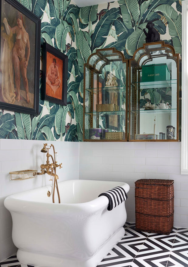 Eclectically Glamorous Home