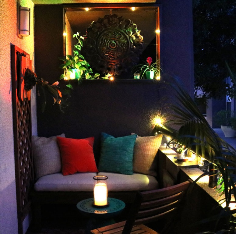 Rental Balcony Makeover