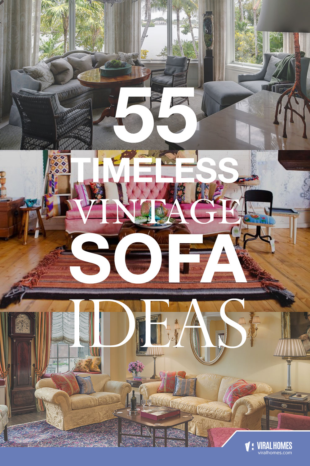 Vintage Sofa Ideas for the Classy Homemakers