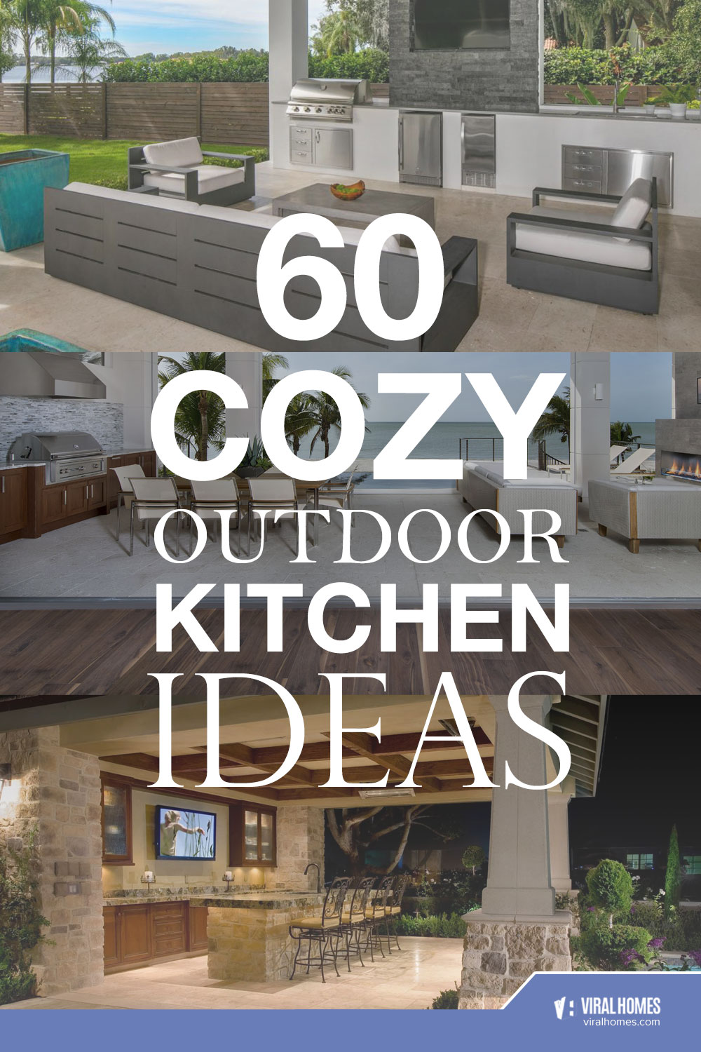 60 Relaxing Outdoor Kitchen Designs for Family Gatherings