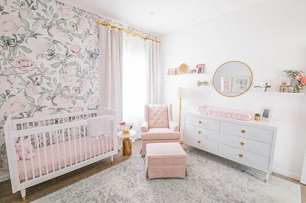 Blush Glam Nursery