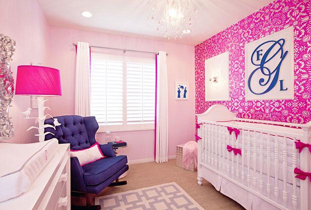Glam Hot Pink Nursery
