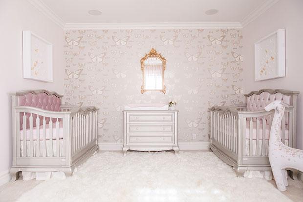 Butterfly Nursery for Twins