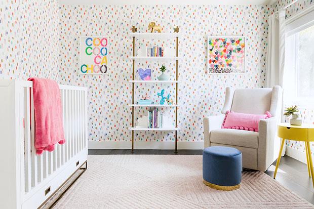 Paint Strokes Colorful Nursery